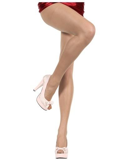 Pierre Cardin 3'Lü Süper İnce Mat Külotlu Çorap Renkli